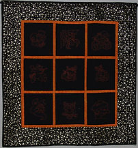 Hallowe'en Embroideries Wall Hanging