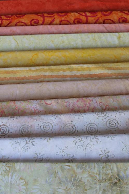 Batik Fabrics #12