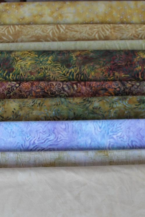 Batik Fabrics #11