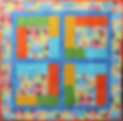 Flannel Garden Baby Quilt Kit
