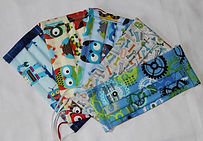 Kid's Face Mask Collection #2  5 Pack $45.00 or individually $10.00 each, $9.00 each for 5 or more.