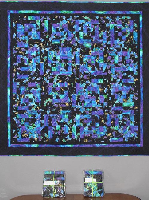 Around The Block Quilt Kit