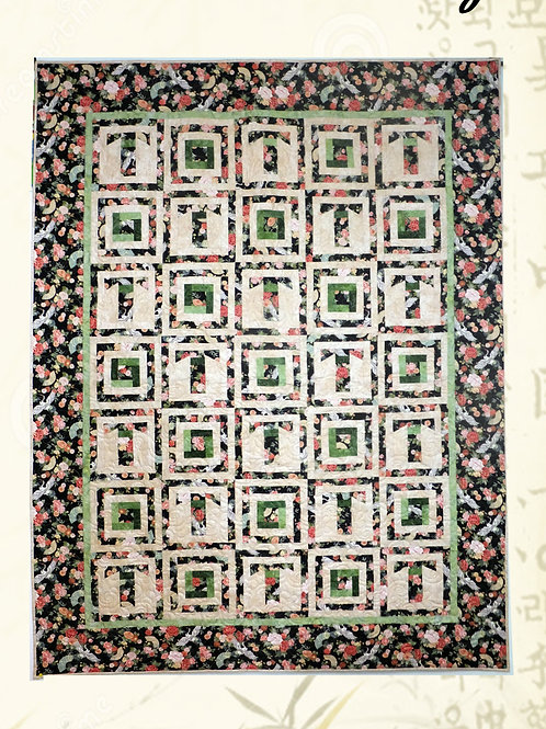 Kimono Days Quilt Pattern