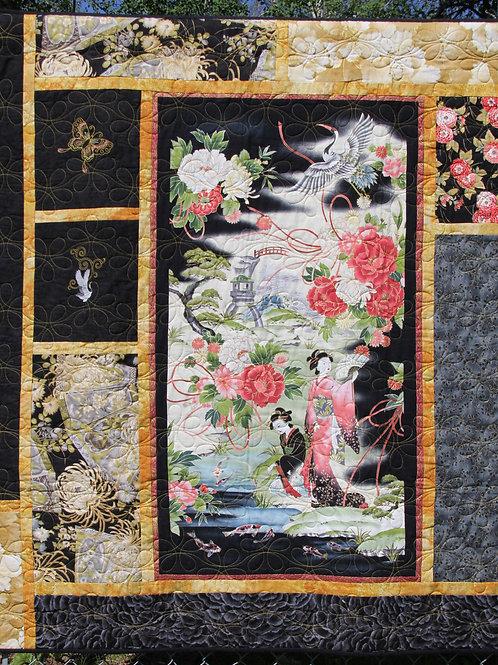 Geisha Wallhanging Quilt