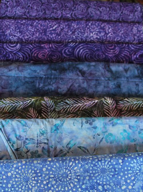 Batik Fabrics #18