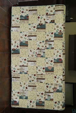 Coffee Time Lap Quilt