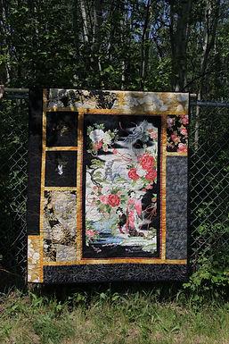 Geisha Garden Wall Hanging