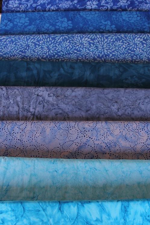 Batik Fabrics #17
