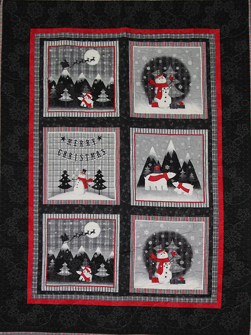 Christmas Lap/Couch Quilt