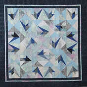 Shadow Birds lap Quilt Kit