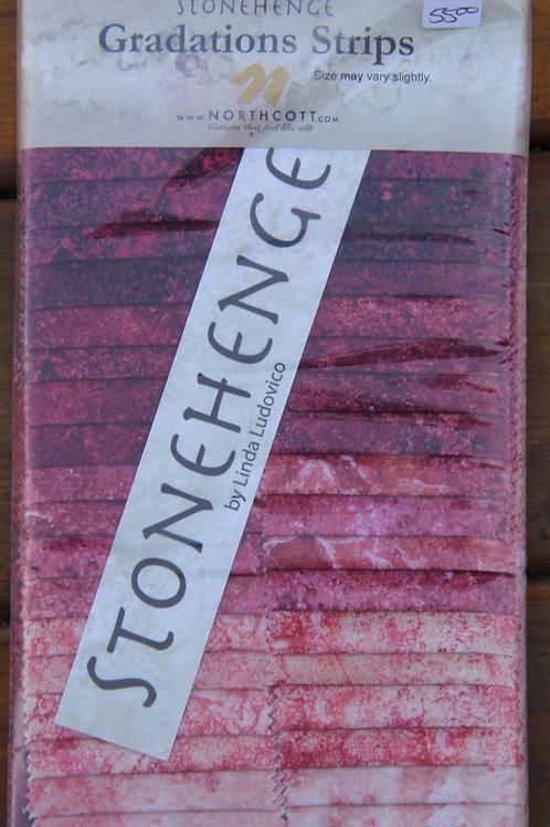 "Northcott Stonehenge 2-1/2"" strips"