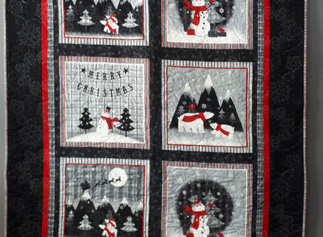 Winter Wishes Lap Quilt/Wall hanging