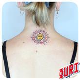 Soleil Tarot  Ouri tatouage La Rochellle