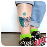 Papillon  Ouri tatouage La Rochellle