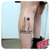 tatouage bateau Ouri La Rochellle