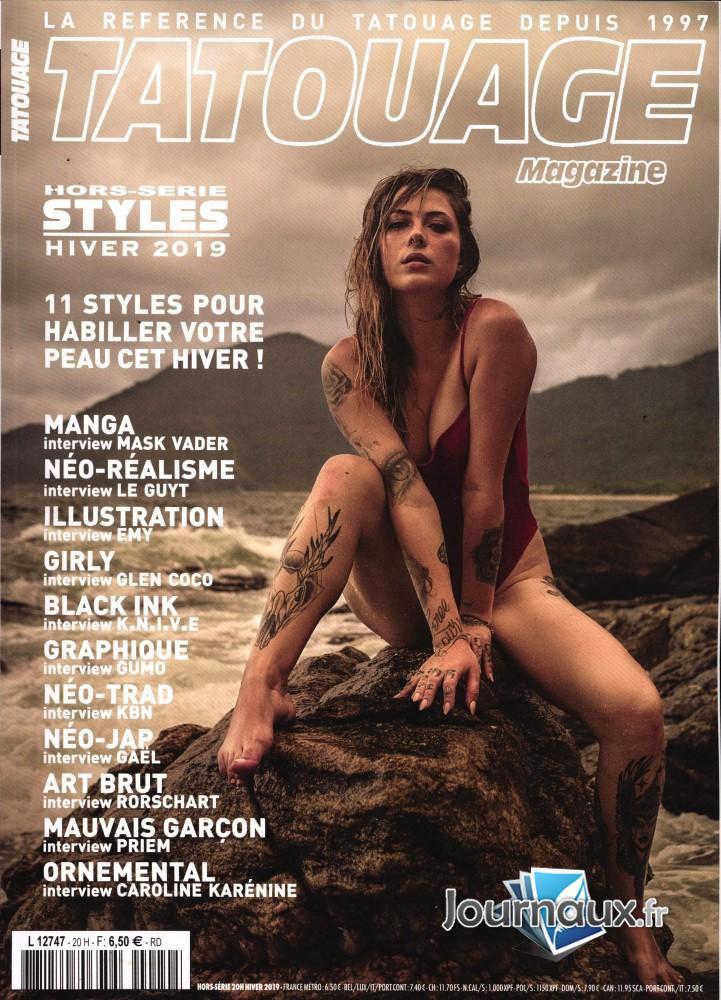 Atelier Smak Dans Le Hors Serie De Tatouage Magazine
