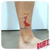 Aout  Ouri tatouage La Rochellle
