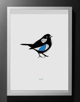 Print oiseau
