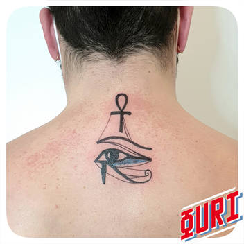 Tatouage Oeuil d' Horus
