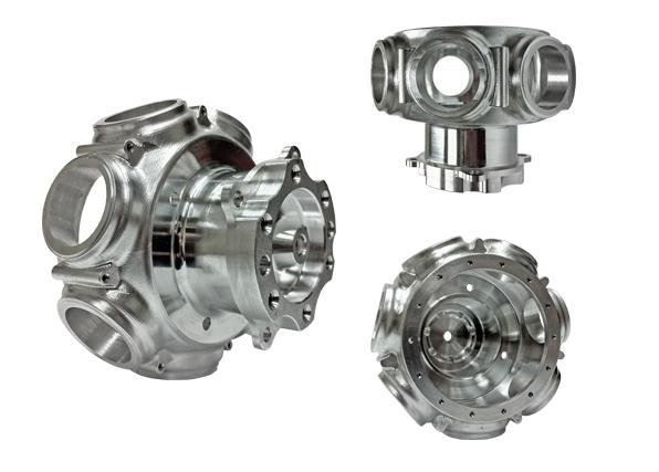 Aluminum Aerospace Hub