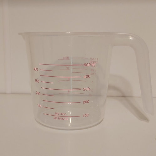 500 ml plastic working jug