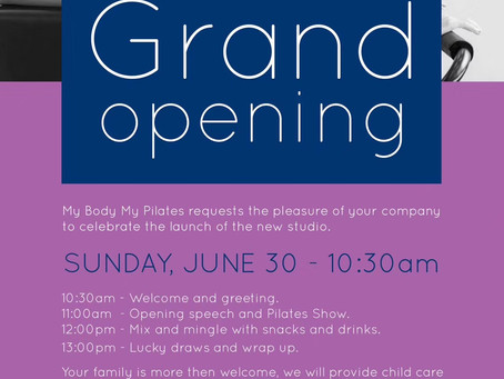 Grand Opening for expanding