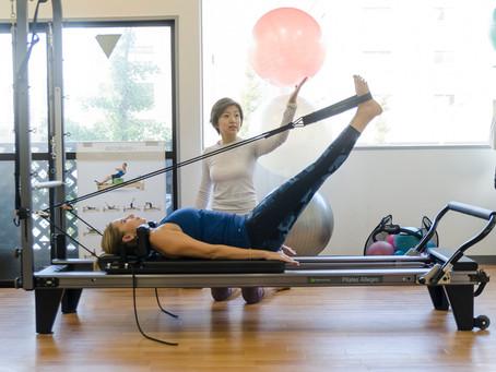 Pilates EXERCISES USING equipments     マシンピラティスクラスとは何ですか