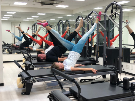 PILATES IS back in the studio!