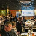 Almoço em Brasília para o relançamento da FREMOB