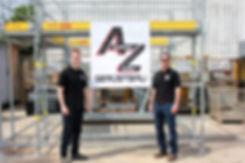 Andreas und Matthias Zoller I AZ Gerüstbau