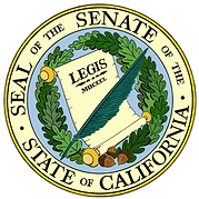 Casson Trenor California Senate Award
