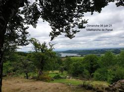 dimanche 06/06/2021 Vue depuis la Tour de Peyrebrune