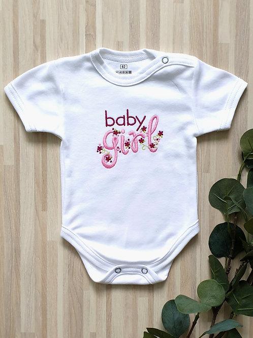 Hímzett body - Baby girl