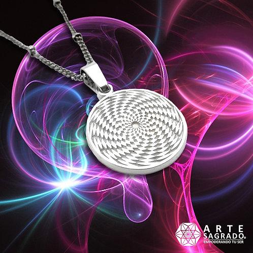 Medallita Sensor cósmico Plata 925