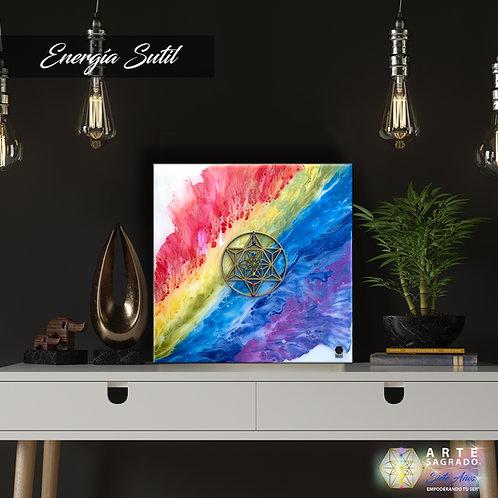 """Pintura Abstracta """"Energía Sutil"""""""