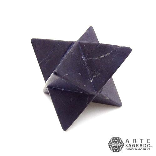 Estrella MERKABAH JUMBO 3D Shungita
