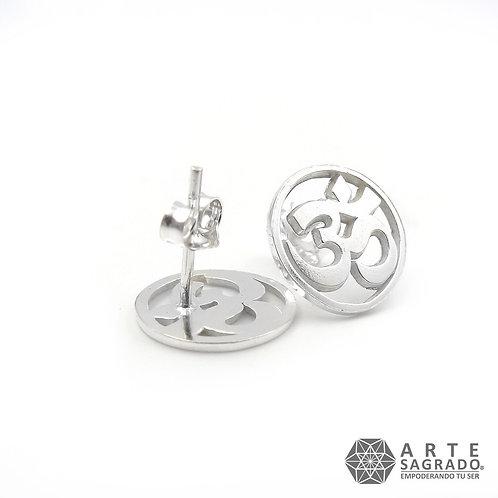 Aretes OHM mariposa plata 0.925