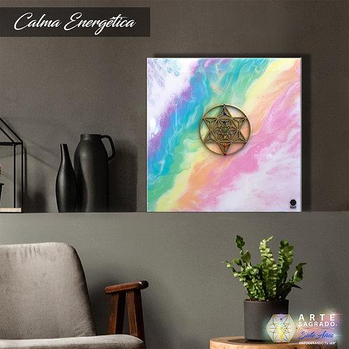 """Pintura Abstracta """"Calma energética"""""""