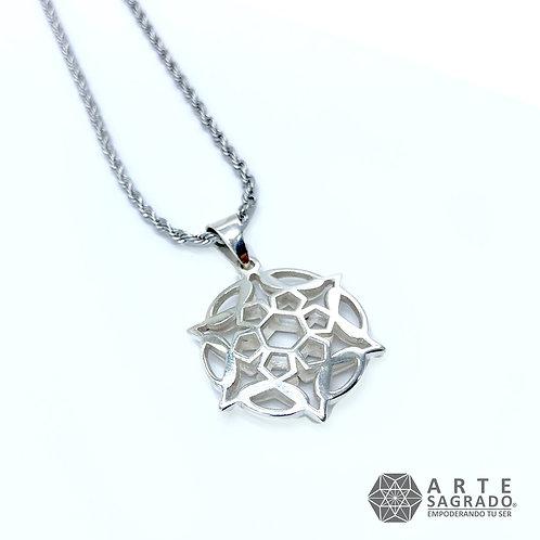 Collar MER-KA-BAH plata 0.925