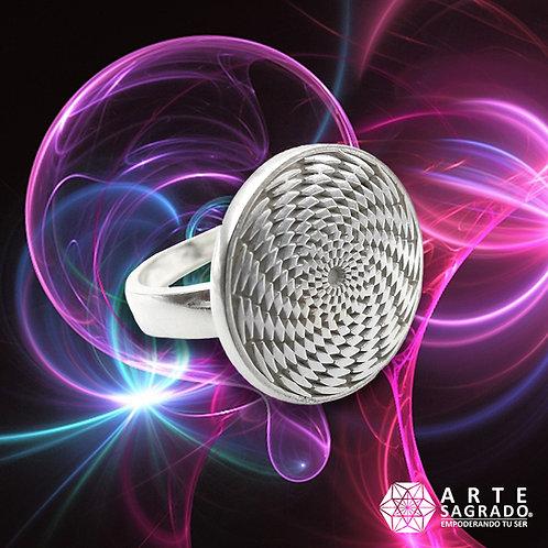 Anillo Sensor Cósmico plata 925