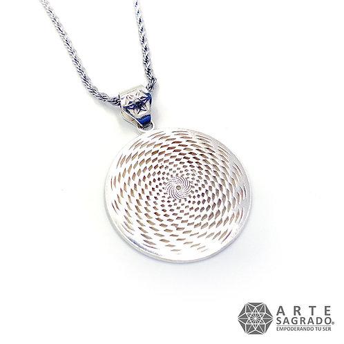 Collar SENSOR CÓSMICO plata 0.925