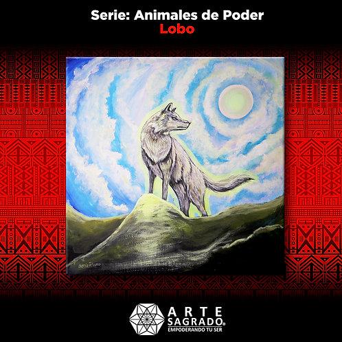Pintura Lobo