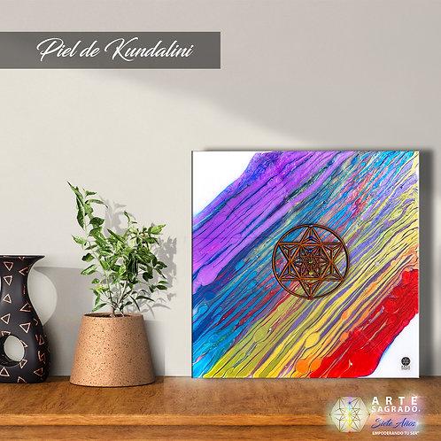 "Pintura Abstracta ""Piel de Kundalini"""