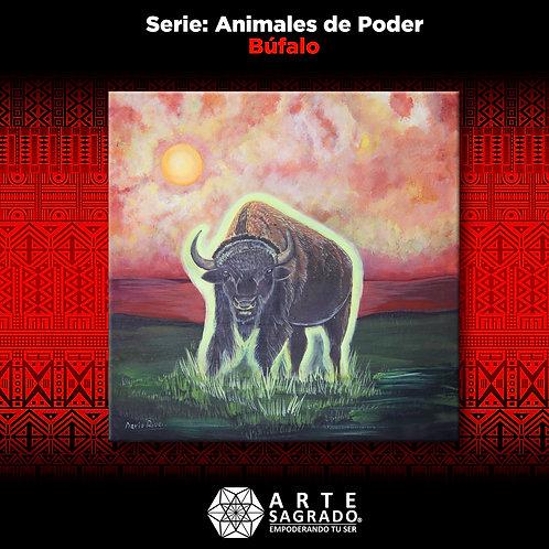 Pintura Búfalo