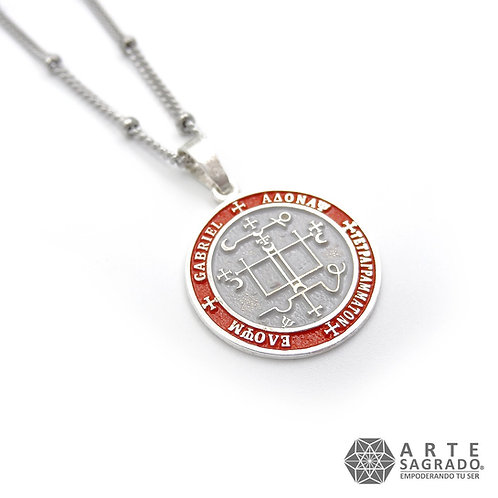 Medallita ARCÁNGEL GABRIEL Plata 0.925