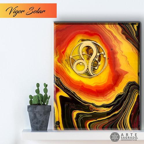 """Pintura Abstracta """"Vigor Solar"""""""