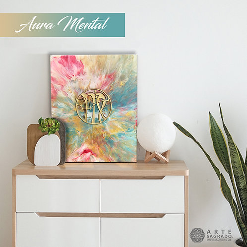 "Pintura Abstracta ""Aura Mental"""