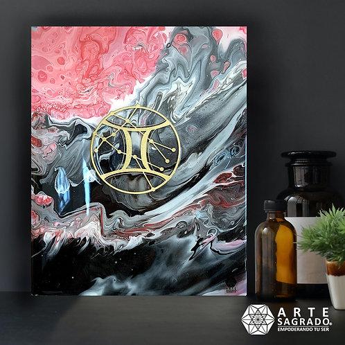 "Pintura Abstracta ""Mente Versátil"""