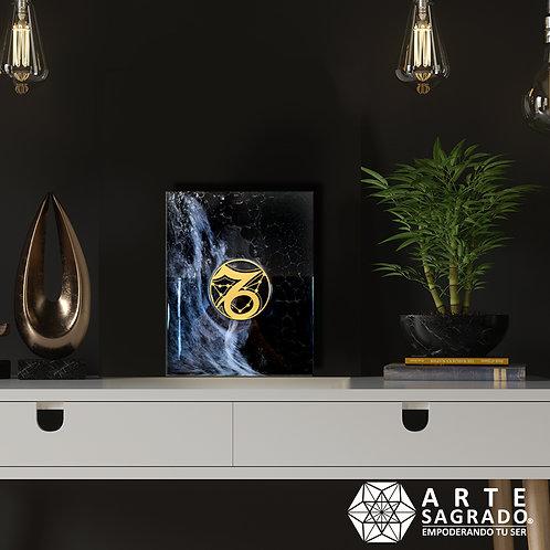 """Pintura Abstracta """"Realización cristalina"""""""