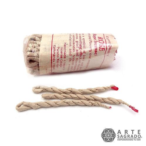 """Inciensos Tibetanos """"Rope"""" cuerda hechos a mano."""